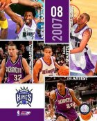 Kings 2007 Sacramento Team Composite 8X10 Photo LIMITED STOCK