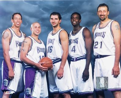 Kings 2002 Sacramento Team 8X10 Photo LIMITED STOCK