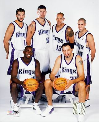 Kings 2004 Sacramento Team 8X10 Photo LIMITED STOCK