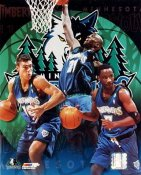 Timberwolves 2000 Minnesota Team 8X10 Photo LIMITED STOCK