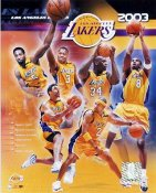 Lakers 2003 Los Angeles Team Composite 8X10 Photo LIMITED STOCK