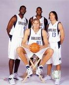 Mavericks 2004 Dallas Team 8X10 Photo LIMITED STOCK