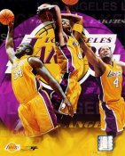 Shaq O'Neal, Kobe Bryant LIMITED STOCK Los Angeles Lakers 8x10 Photo