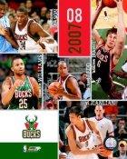 Milwaukee 2007 Bucks Team 8X10 Photo LIMITED STOCK