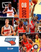 Charlotte 2007 Bobcats Team Composite 8X10 Photo LIMITED STOCK