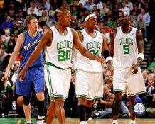 Ray Allen, Paul Pierce, Kevin Garnett LIMITED STOCK Celtics 8X10 Photo