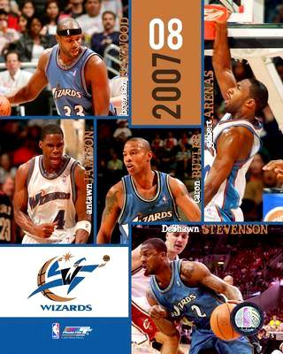 Washington 2007 Wizards Team 8X10 Photo LIMITED STOCK