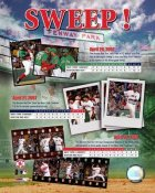Boston 2007 Sweep Red Sox Beat Yanks LIMITED STOCK 8x10 Photo