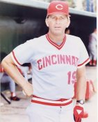 Tommy Helms Cincinnati Reds 8X10 Photo