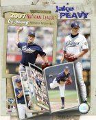 Jake Peavy 2007 LIMITED STOCK Cy Young San Diego Padres 8X10 Photo