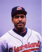 Dave Winfield Cleveland Indians 8X10 Photo
