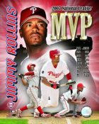 Jimmy Rollins 2007 MVP LIMITED STOCK Philadelphia Phillies 8X10 Photo