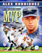 Alex Rodriguez 2007 MVP New York Yankees 8X10 Photo