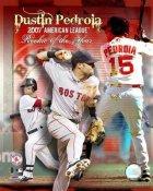 Dustin Pedroia 2007 ROY Boston Red Sox 8x10 Photo