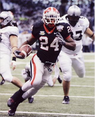 Knowshon Moreno 2008 Sugar Bowl Georgia BullDogs College 8X10 Photo