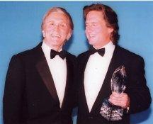 Kirk Douglas and Michael Douglas 8X10 Photo