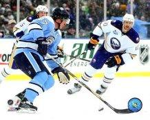 Sidney Crosby & Henrik Tallinder 2008 Winter Classic 8x10 Photo