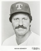 Kevin Kennedy Team Issue Photo 8x10 Rangers