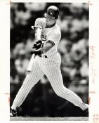 Dave Nilsson Wire Photo 8x10 Brewers