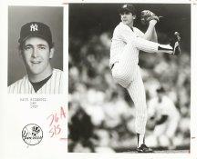 Dave Righetti Team Issue Photo 8x10 Yankees