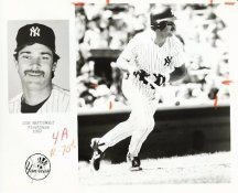 Don Mattingly Team Issue Photo 8x10 Yankees