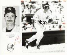 Don Mattingly Team Issue Photo 8x10 Yankees