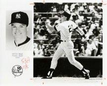 Kevin Maas Team Issue Photo 8x10 Yankees