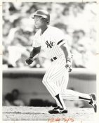 Rickey Henderson Wire Photo 8x10 Yankees