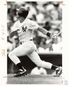 Steve Sax Wire Photo 8x10 Yankees
