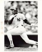 Roberto Kelly Wire Photo 8x10 Yankees