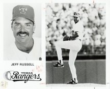 Jeff Russell Team Issue Photo 8x10 Rangers