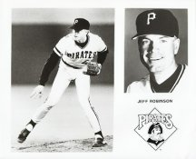 Jeff Robinson Team Issue Photo 8x10 Pirates