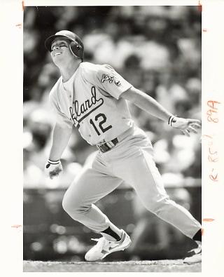 Lance Blankenship Wire Photo 8x10 Athletics