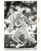 Lance Blankenship Wire Photo 8x10 Athletics