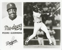 Pedro Guerrero Team Issue Photo 8x10 Dodgers