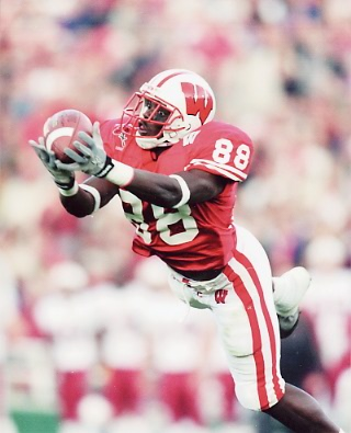 Chris Chambers Wisconsin Badgers 8X10 Photo