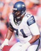 Walter Jones Seattle Seahawks 8X10 Photo