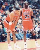 Scottie Pippen & Michael Jordan Chicago Bulls 8X10 Photo LIMITED STOCK