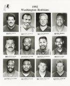 1992 Washington Team Issue 8x10 Redskins
