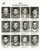 Washington 1992 Team Issue 8x10 Redskins