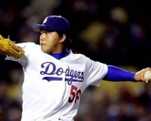 Hong-Chih Kuo Los Angeles Dodgers 8X10 Photo