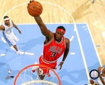 Ben Wallace Chicago Bulls 8X10 Photo LIMITED STOCK