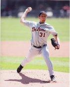 Zach Miner Detroit Tigers 8X10 Photo