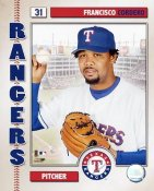 Francisco Cordero LIMITED STOCK 2006 Studio Texas Rangers 8X10 Photo