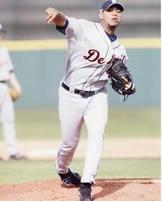 Yorman Bazardo Detroit Tigers 8X10 Photo