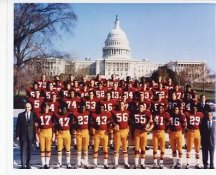 Redskins 1969 Washington Team 8X10 Photo