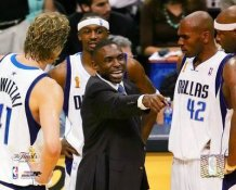 Avery Johnson 2006 Finals Dallas Mavericks 8X10 Photo LIMITED STOCK