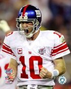 Eli Manning Super Bowl 42 Giants 8X10 Photo