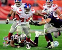 Ahmad Bradshaw Super Bowl 42 Giants 8X10 Photo
