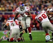 Brandon Jacobs Super Bowl 42 Giants 8X10 Photo